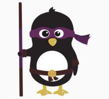 Penguin Ninja Donatello Kids Tee