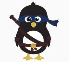 Penguin Ninja Leonardo by Arpsara