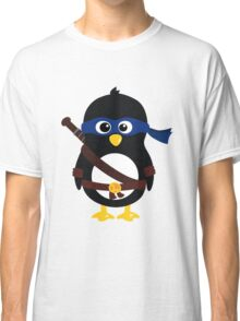 Penguin Ninja Leonardo Classic T-Shirt