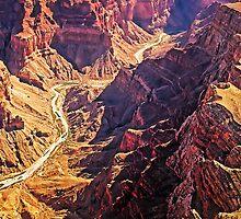 Morning Sun in the Grand Canyon, Arizona, USA by TonyCrehan