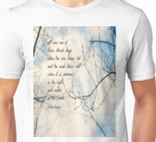 March Charles Dickens Unisex T-Shirt