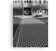 Crosswalk in Geneva, New York Canvas Print