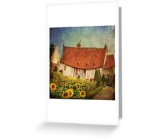 The Gardener's Cottage at Château Chenonceau Greeting Card