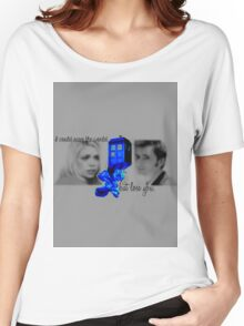Rose and The Doctor on Doomsday Women's Relaxed Fit T-Shirt