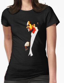 The Sophisticated Smoker Womens Fitted T-Shirt