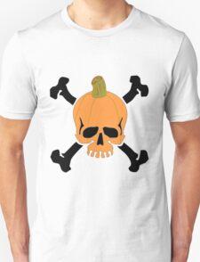 Pumpkin Skull Unisex T-Shirt