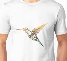 Steampunk Humming Bird Unisex T-Shirt