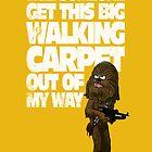 Big Walking Carpet (Star Wars) by corywaydesign