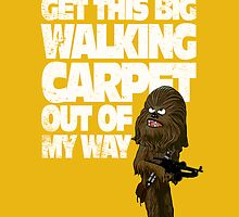 Big Walking Carpet (Star Wars) by corywaydesign