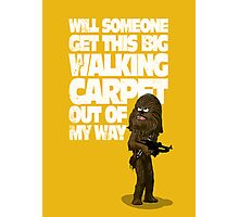 Big Walking Carpet (Star Wars) Photographic Print