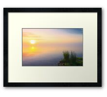 No border line Framed Print