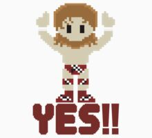 8Bit Daniel Bryan YES! WWE 3Enigma Tee by CrissChords