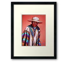 Evaristo Framed Print