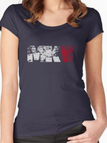 MKV (white) Women's Fitted Scoop T-Shirt