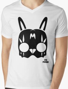 Acid Rabbit Mens V-Neck T-Shirt