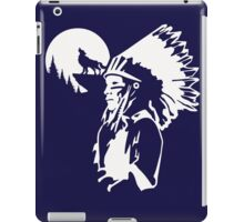 Indian wolf indien american native iPad Case/Skin