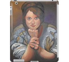 A Young German Woman In Traditional Dress iPad Case/Skin