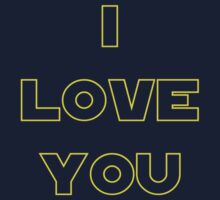 I love You (alternate) - SW Couples Baby Tee