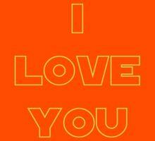 I love You (alternate) - SW Couples Kids Tee