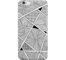 Zentangle - iPhoneCover - White iPhone Case/Skin