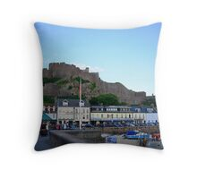 Gorey Castle, Jersey Throw Pillow