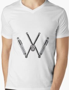 VW Logo T-Shirt & Hoodies Mens V-Neck T-Shirt