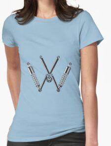 VW Logo T-Shirt & Hoodies Womens Fitted T-Shirt