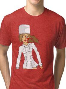 Russian snow white  Tri-blend T-Shirt