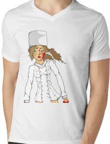 Russian snow white  Mens V-Neck T-Shirt