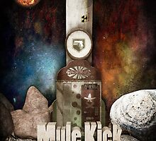Zombies Mule Kick Perk Poster by HexZombies