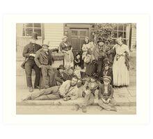 Victorian Life Art Print