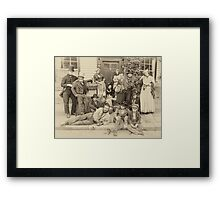 Victorian Life Framed Print