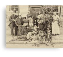 Victorian Life Canvas Print
