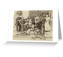 Victorian Life Greeting Card