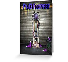 Zombies PhD Flopper Perk Poster Greeting Card