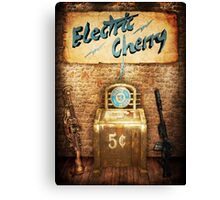 Zombies Electric Cherry Perk Poster Canvas Print