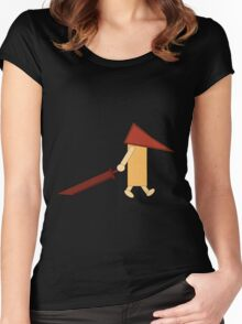 Reddish Pyramid Head Women's Fitted Scoop T-Shirt