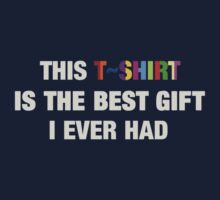 The Best T-Shirt by V-Art