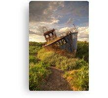 Cley Wreck Canvas Print