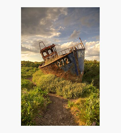 Cley Wreck Photographic Print