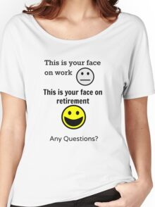 Retired Face Women's Relaxed Fit T-Shirt