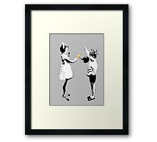 conckers..young love Framed Print