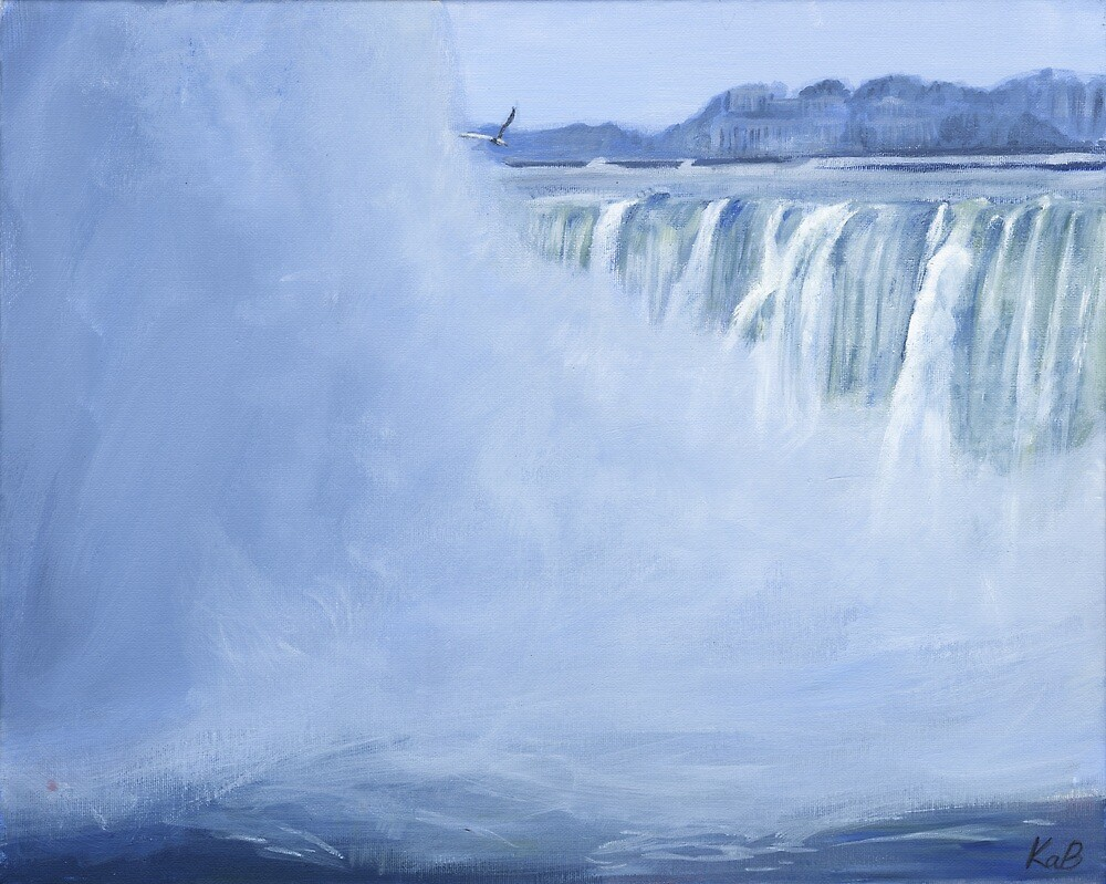 Winter Falls by Keri Buckland