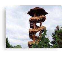 Lookout Tower from Cox Arboretum Canvas Print