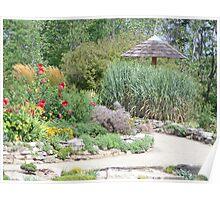 Cox Arboretum Flower Path Poster