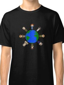Hetalia Axis Powers  t-shirts - Most Popular shirt ! Hoodies now available! (aph draw a circle T shirts, axis powers) shirt / hoodie / hoody and posters avail. too! Classic T-Shirt