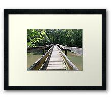 The Long Bridge Framed Print