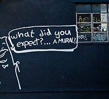 What did you expect? by Tim Constable