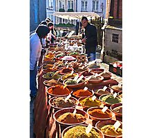 Spice seller Photographic Print