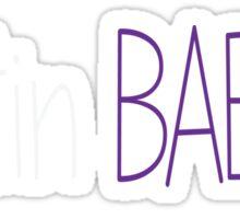 Justin Bieber Baeber Sticker